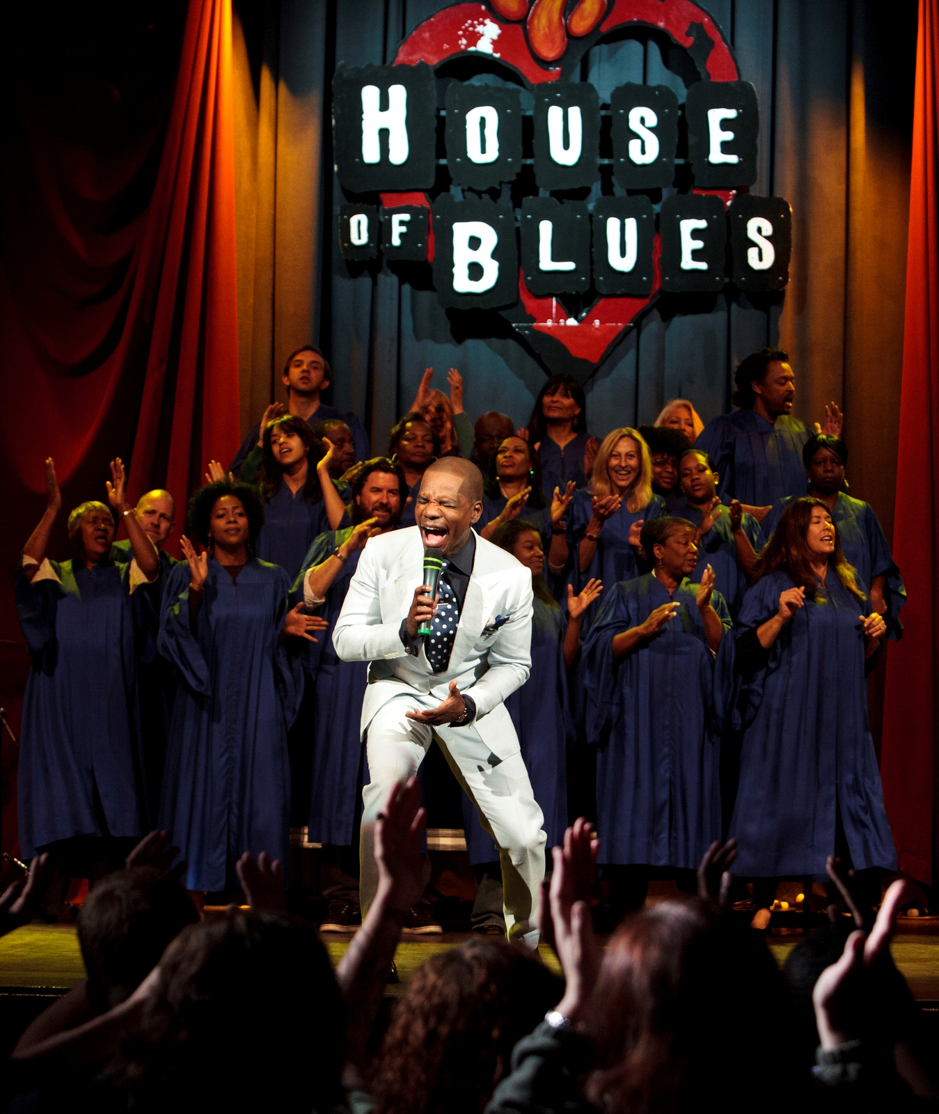 Portraits of Kirk Franklin at House of Blues Dallas on March 21, 2013.