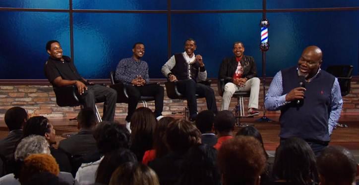 "Lamman Rucker, Luke James, Keith Sweat and Laz Alonzo talk love and the ladies on  ""T.D. Jakes Presents: Mind, Body & Soul"""