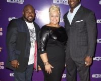 David and Tamela Mann with Director and Co-Executive Producer Roger Bobb